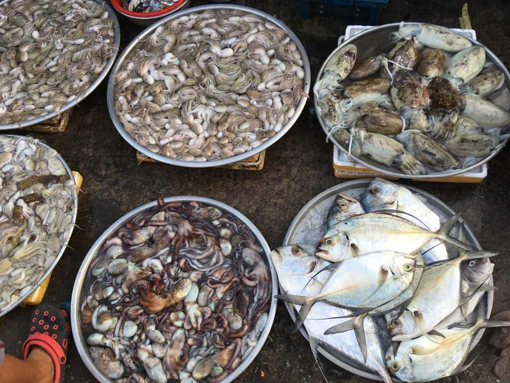 морепродукты на фукуоке