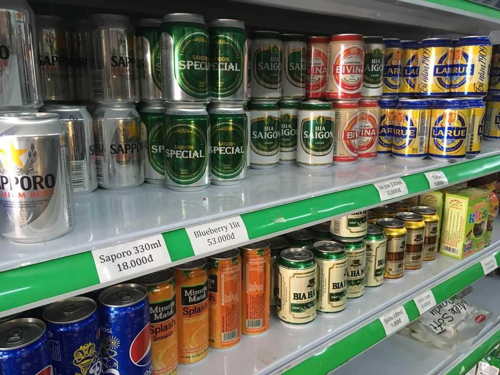 Алкоголь в магазинах Фукуока