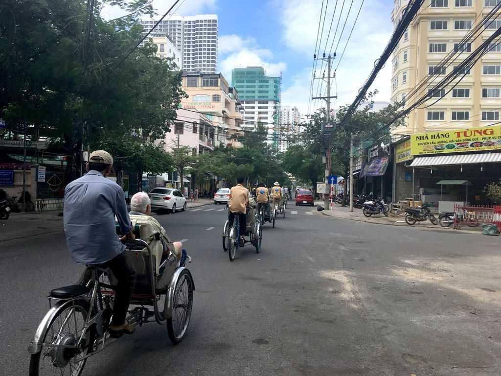 Рикши мошеники в Нячанге