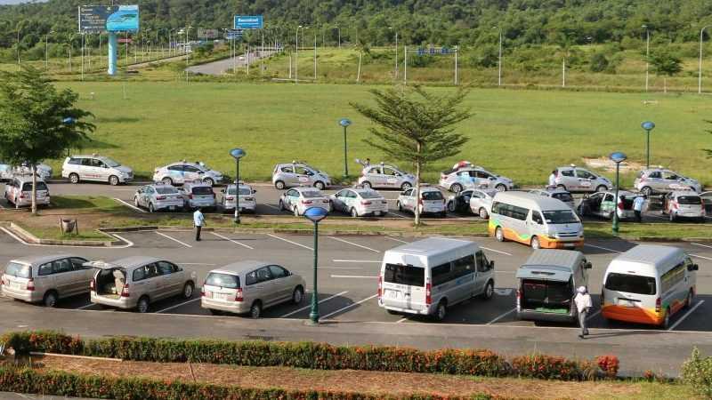 Автобусы в аэропорту Фукуока