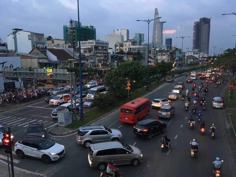 Хаотичное движение во Вьетнаме