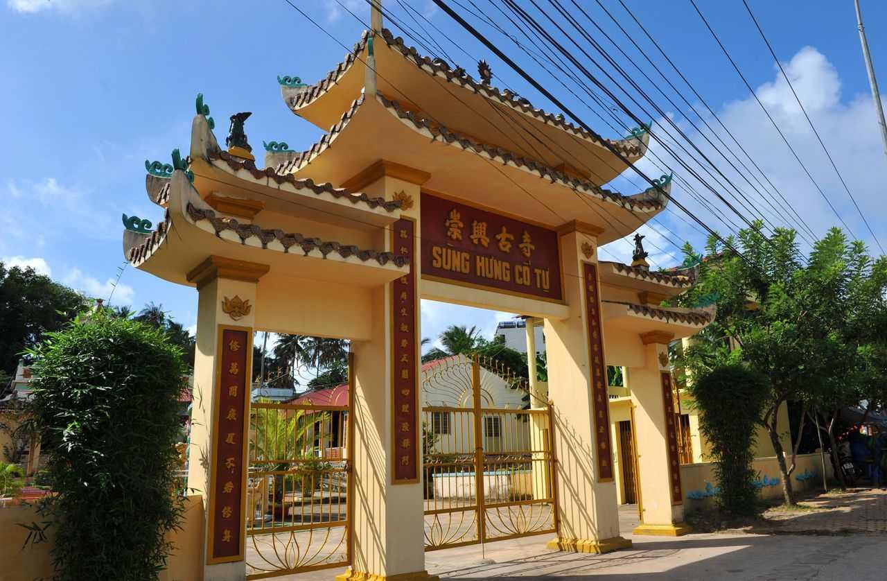 Пагода Хунг Ко Ты на Фукуоке