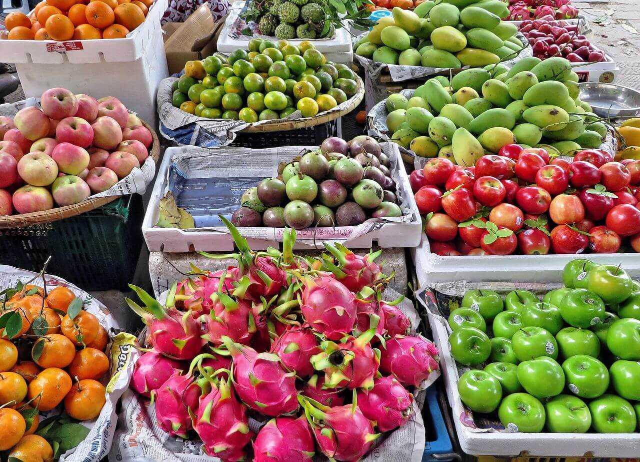 фрукты на фукуоке