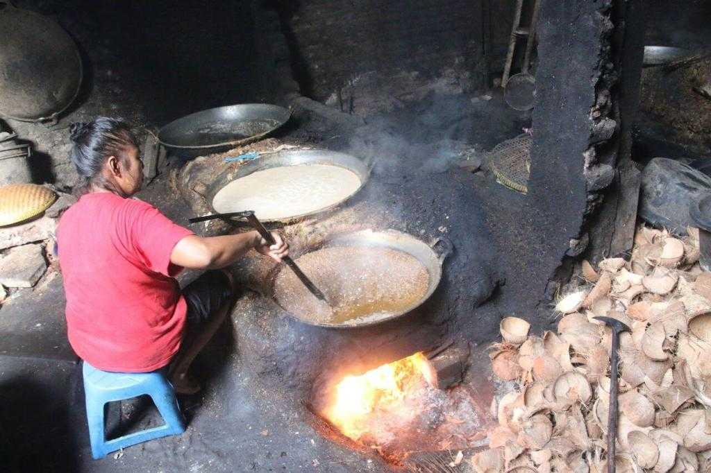 как производят кокосовое масло