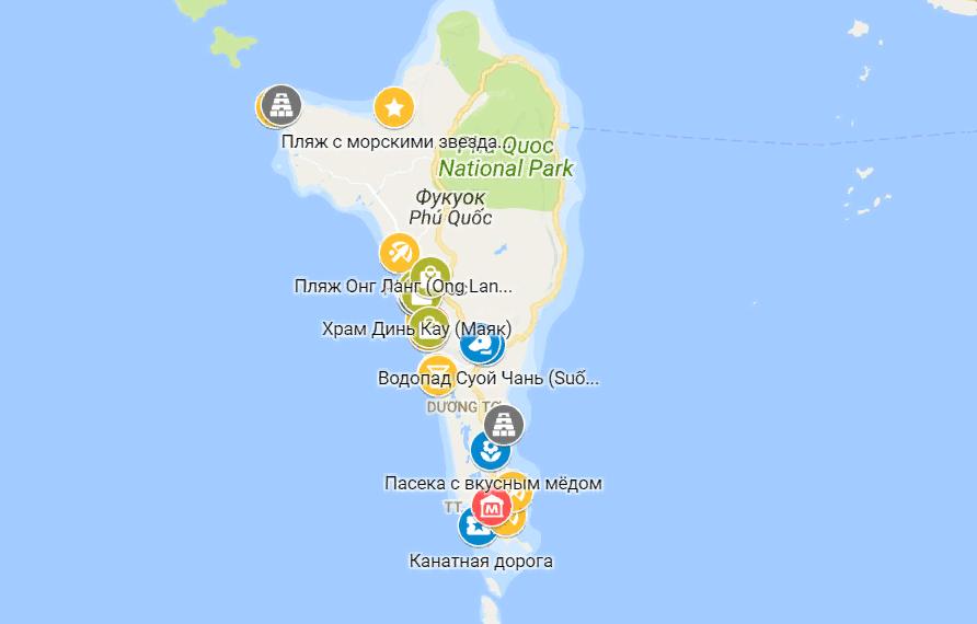 карта фукуока на русском языке