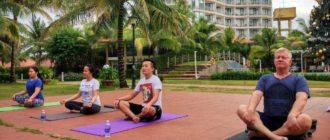 йога на Фукуоке