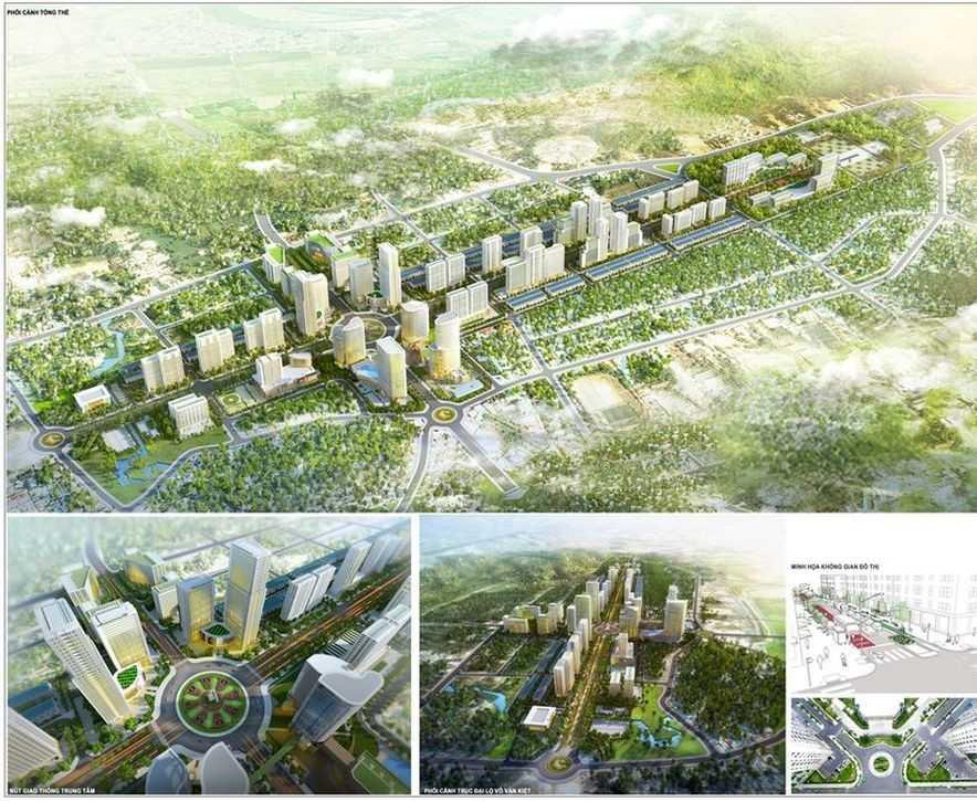 новый квартал на Фукуоке