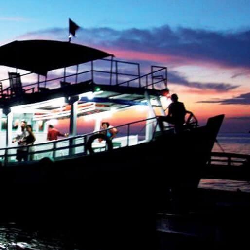 ночная рыбалка на фукуоке