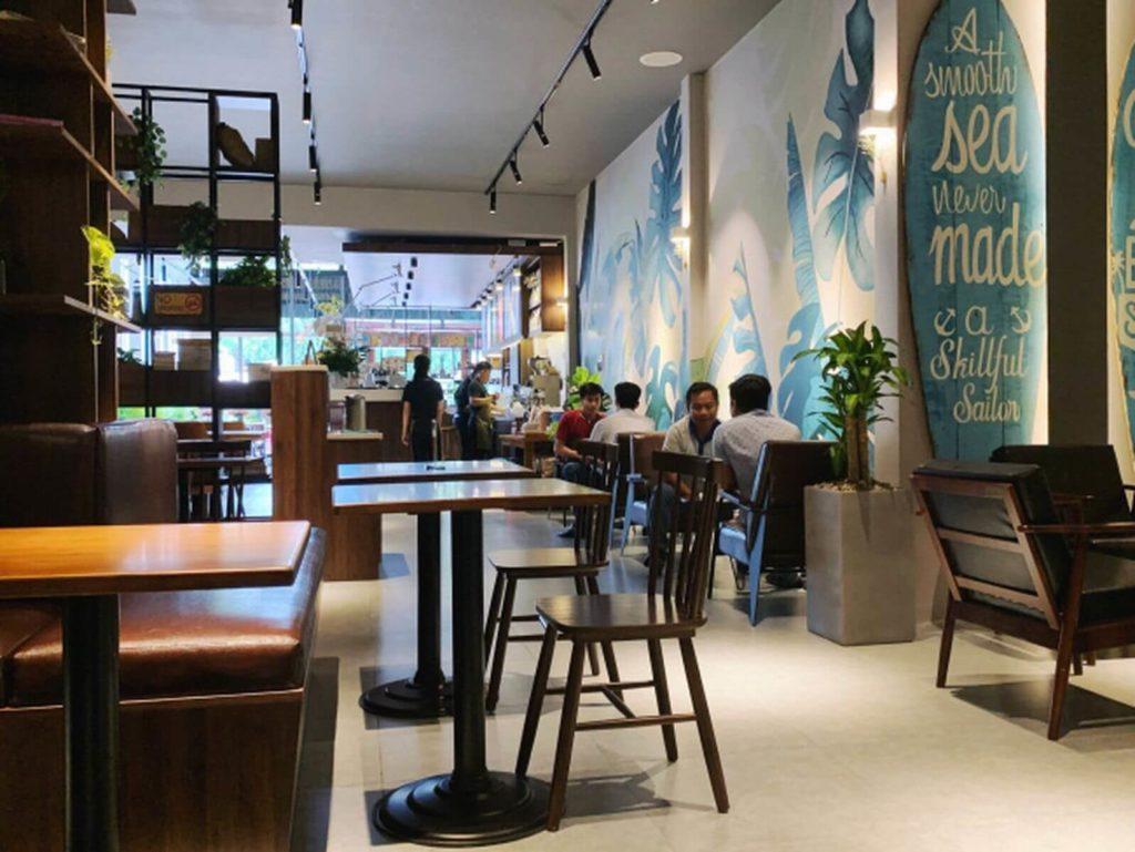Где выпить чашку кофе на Фукуоке в районе Лонг Бич?