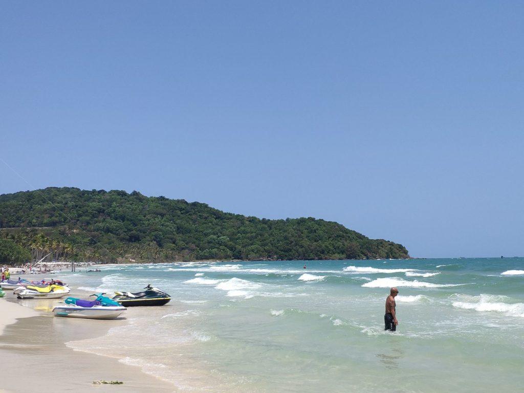 пляж bai sao