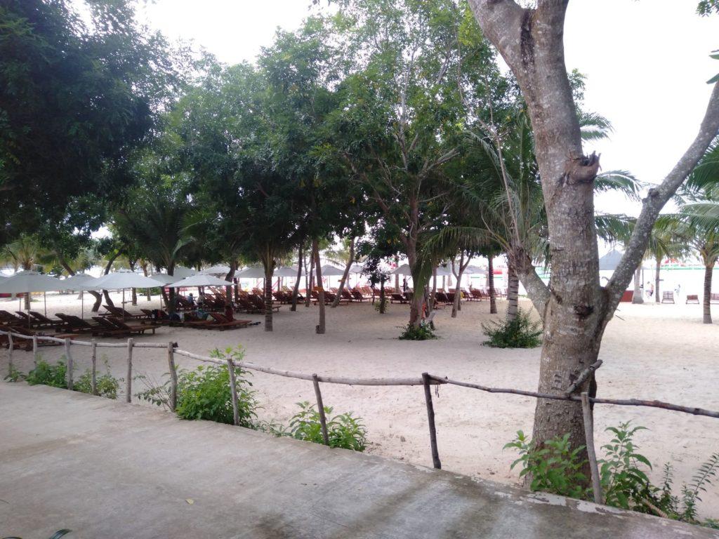 long beach club bai sao resort