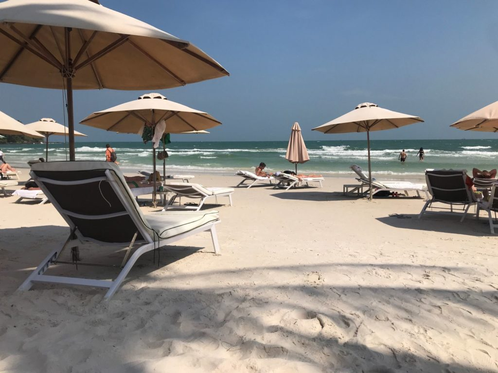 пляж бай сао на фукуоке